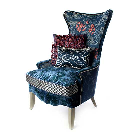 Bluetopia Wing Chair image four