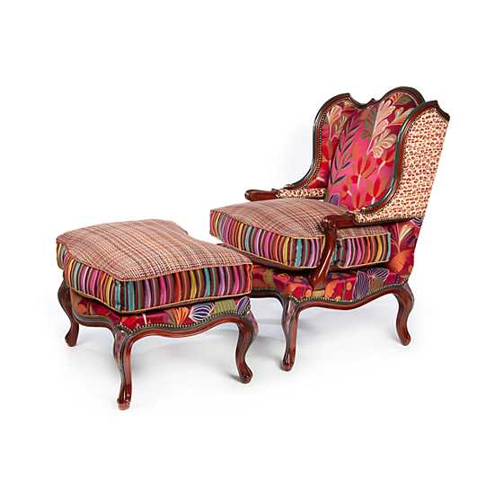 Paradise Wing Chair image three