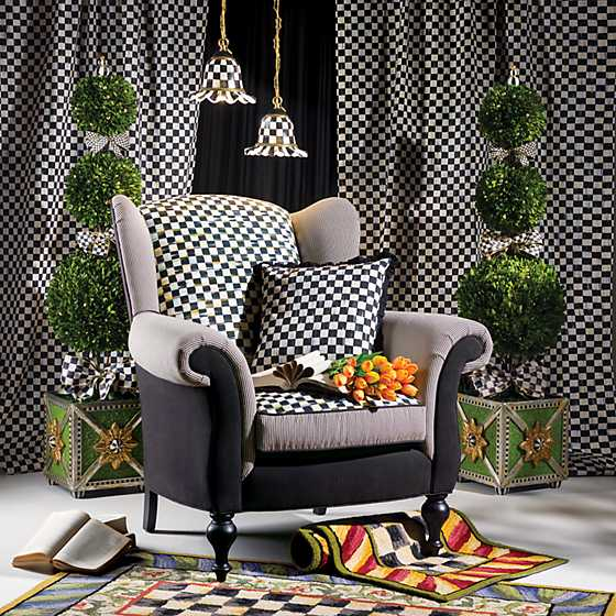 Underpinnings Studio Wing Chair - Black image two