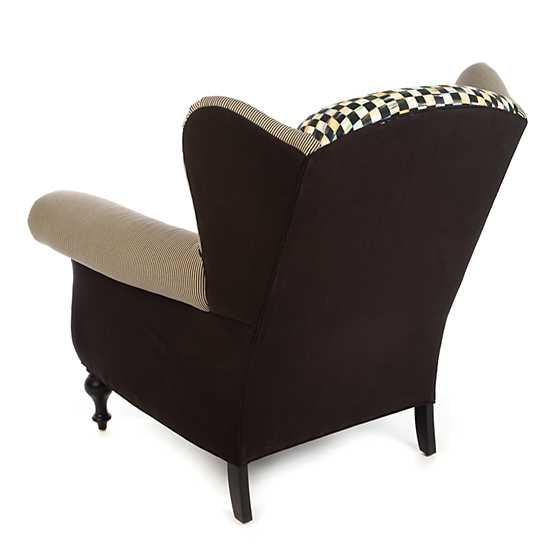 Underpinnings Studio Wing Chair - Black image three