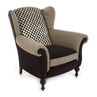 Underpinnings Studio Wing Chair - Black
