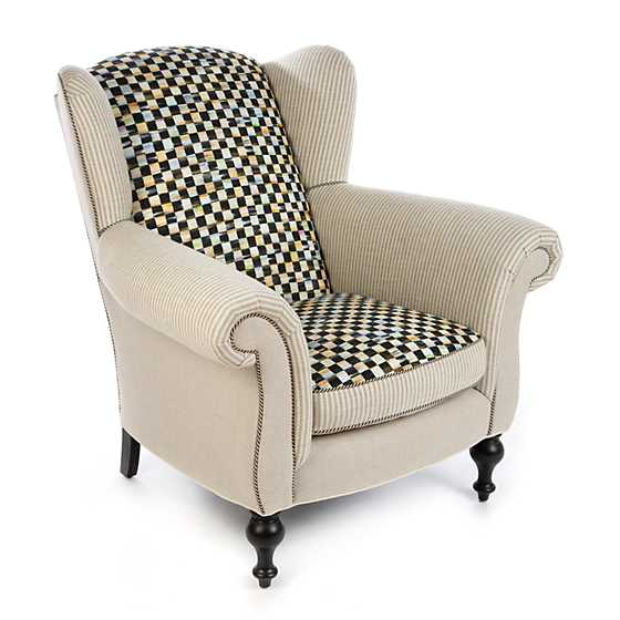 Underpinnings Studio Wing Chair - Flax image one