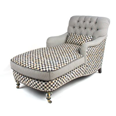 Courtly Check Underpinnings Chaise