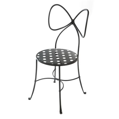 Bow Chair - Black