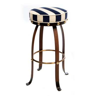 Image for Flatiron Bar Stool - Navy