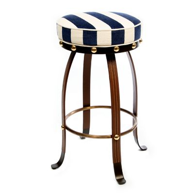Image for Flatiron Counter Stool - Navy