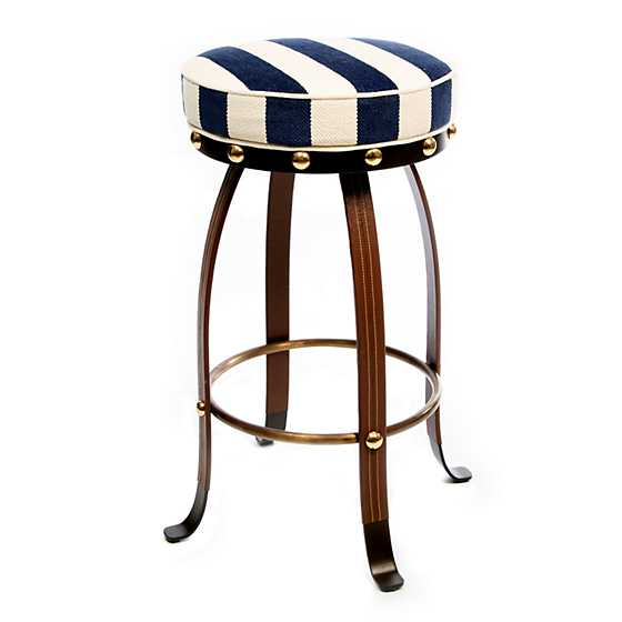 Flatiron Counter Stool - Navy