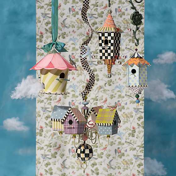 Birdhouse Chandelier image two