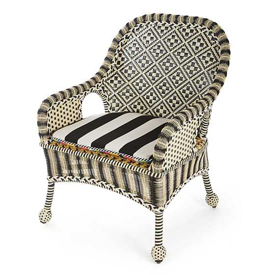 Courtyard Outdoor Accent Chair - Bathing Hut