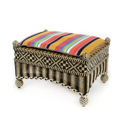 Courtyard Outdoor Ottoman