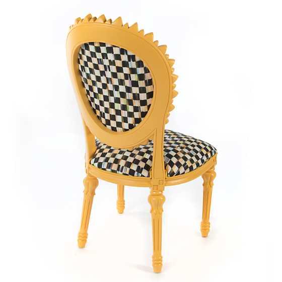 Sunflower Chair mackenzie-childs | sunflower outdoor chair - yellow