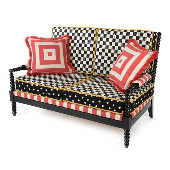 Spindle Cabana Outdoor Loveseat image six