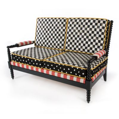 Image for Spindle Cabana Outdoor Loveseat