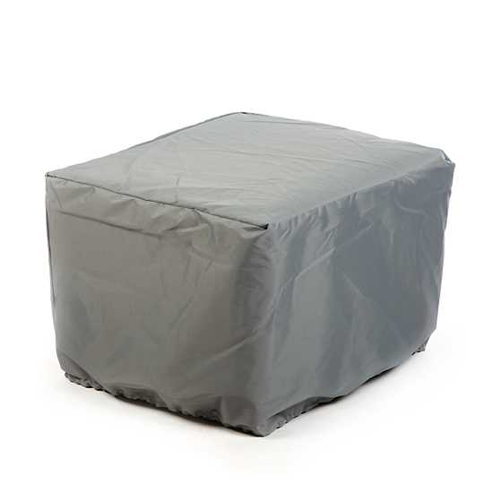Indigo Villa Outdoor Ottoman image three