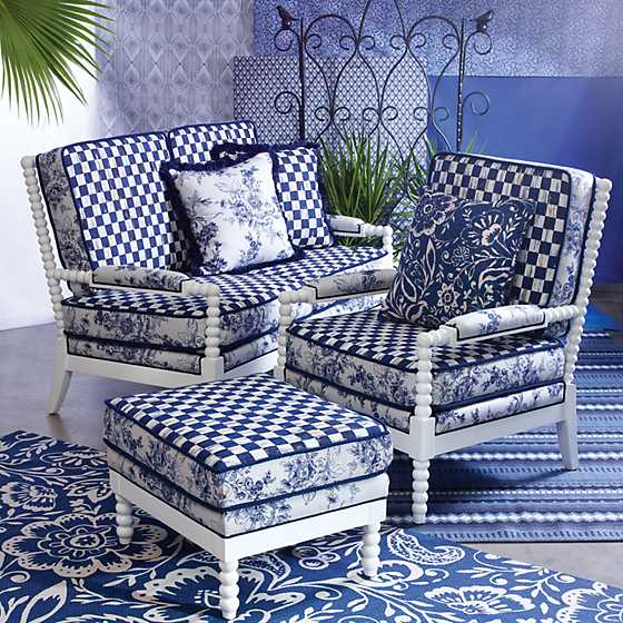Indigo Villa Outdoor Loveseat image two