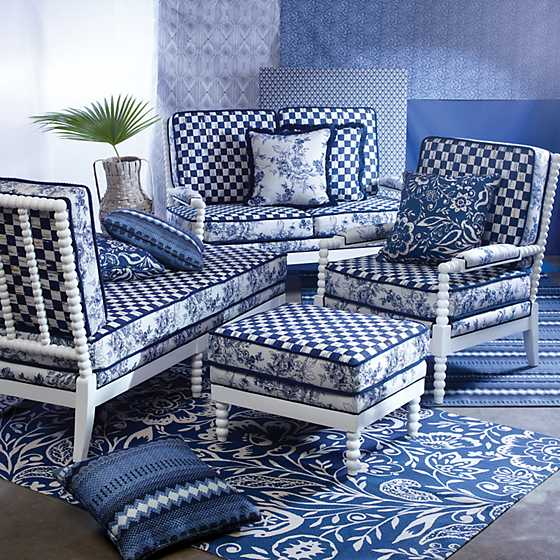Indigo Villa Outdoor Loveseat image five