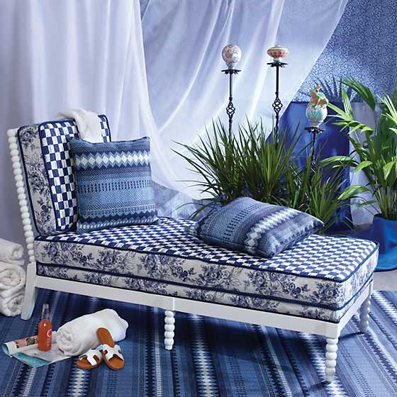 Indigo Villa Outdoor Chaise image two