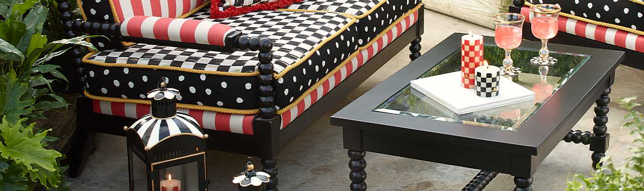 Spindle Cabana Coffee Table Banner Image