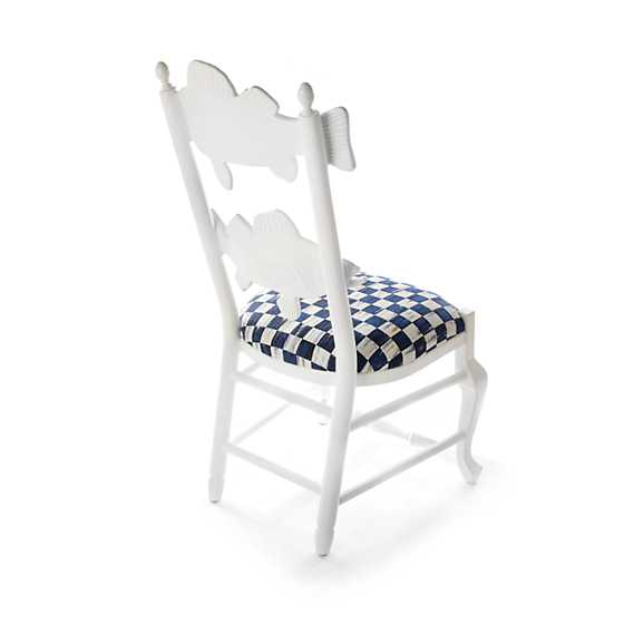 Outdoor Fish Chair - Royal Check image three