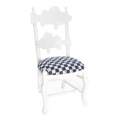 Outdoor Fish Chair - Royal Check