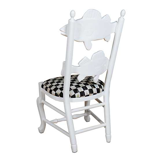 Outdoor Fish Chair - Courtly Check image three