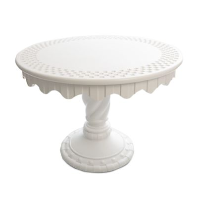 Image for Spiral Column Outdoor Pedestal Table