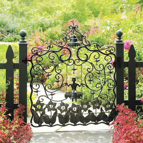 ... Mrs. Powers Garden Gate ...