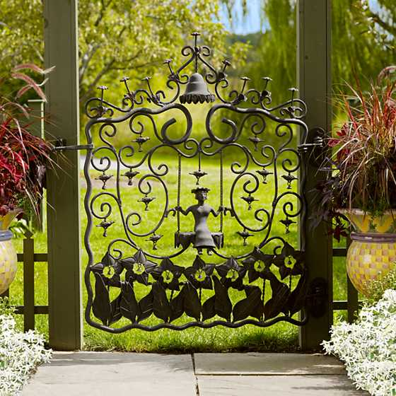 ... Mrs. Powers Garden Gate ... & MacKenzie-Childs | Mrs. Powers Garden Gate