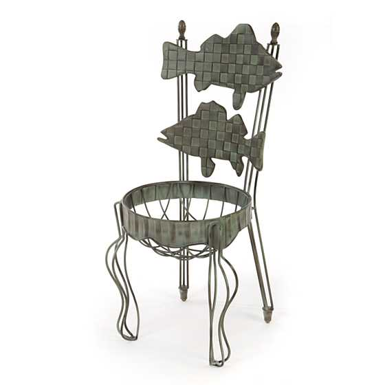 Images Fish Chair Planter