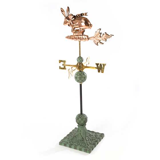 Rocket Rabbit Weathervane