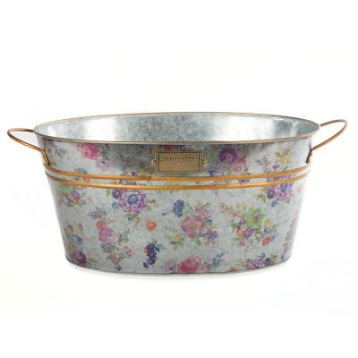 Flower Market Galvanized Beverage Bucket