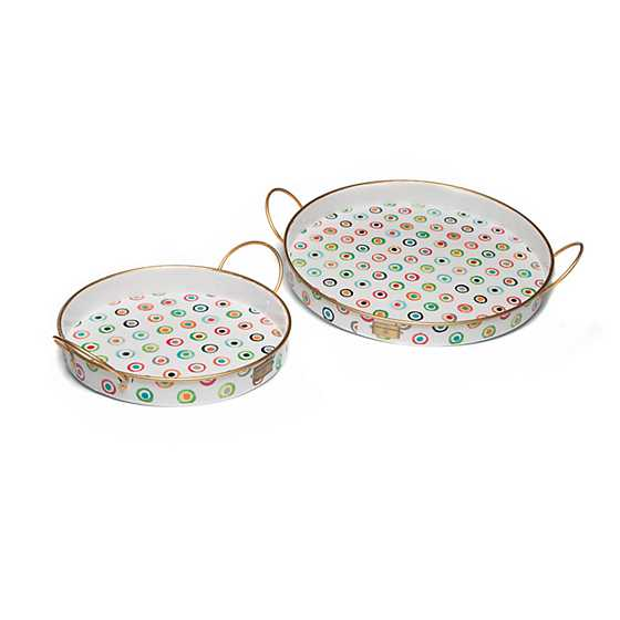 Lunares Outdoor Trays - Set of 2