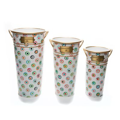 Image for Lunares Flower Buckets - Set of 3
