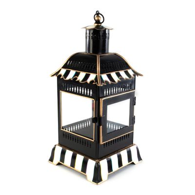 Image for Courtly Stripe Candle Lantern - Small