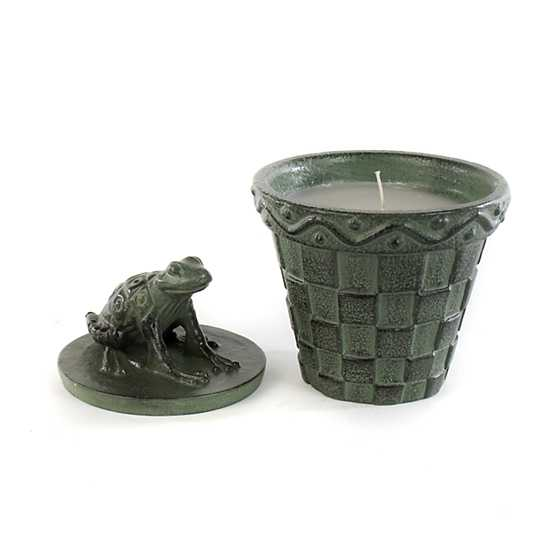 Frog Citronella Candle image three