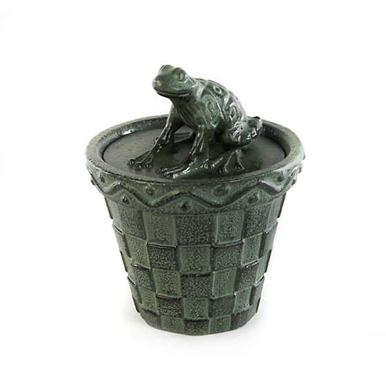 Frog Citronella Candle