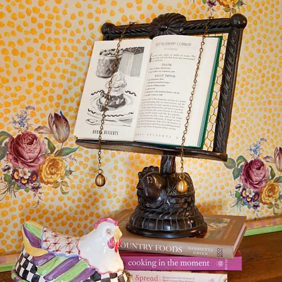 Nesting Chicken Cookbook Stand image six
