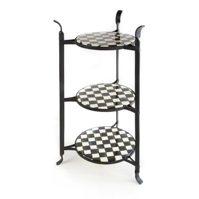 Courtly Check Counter Stand