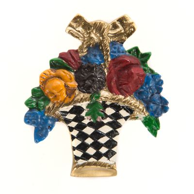 Flower Basket Knob