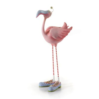 Patience Brewster Jambo Sheldon Flamingo Ornament