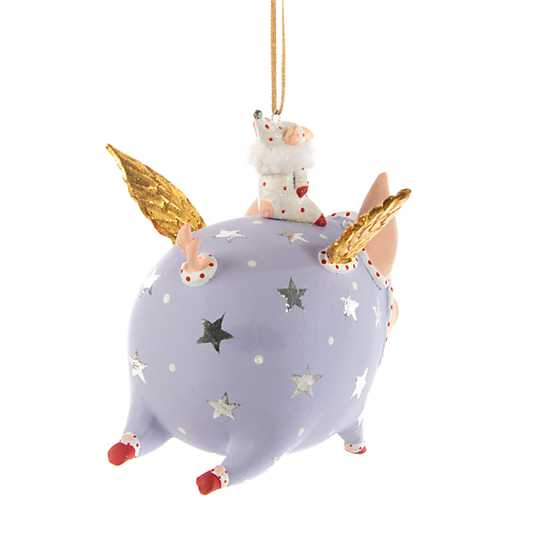 Patience Brewster Tinkerbelle Pig Ornament
