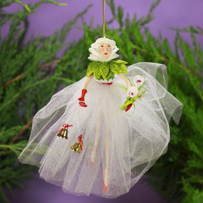 Patience Brewster Lilly Fairy Ornament