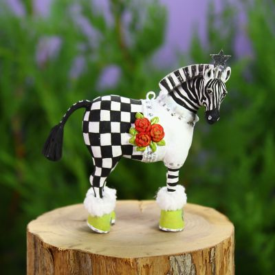 Patience Brewster Jambo Zelda Zebra Mini Ornament