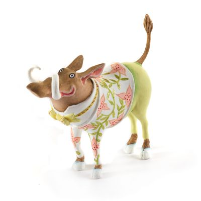 Patience Brewster Jambo Walter Warthog Mini Ornament