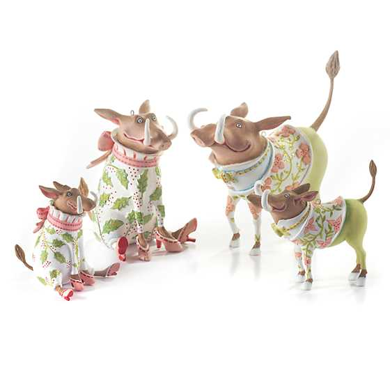 Patience Brewster Jambo Winifred Warthog Mini Ornament image four
