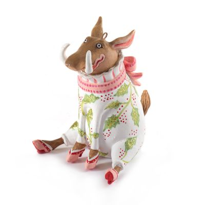 Patience Brewster Winifred Warthog Mini Ornament
