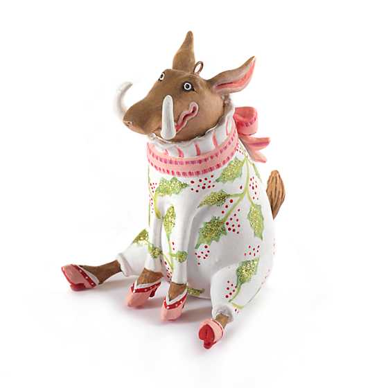 Patience Brewster Jambo Winifred Warthog Mini Ornament image one