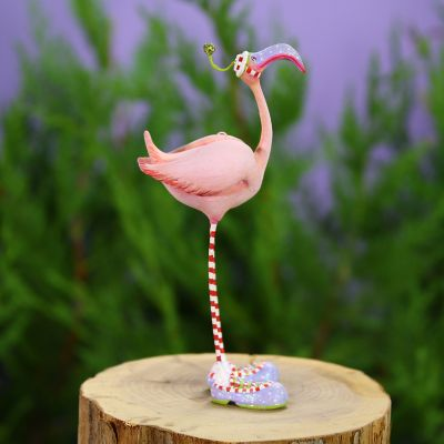 Patience Brewster Jambo Sheldon Flamingo Mini Ornament