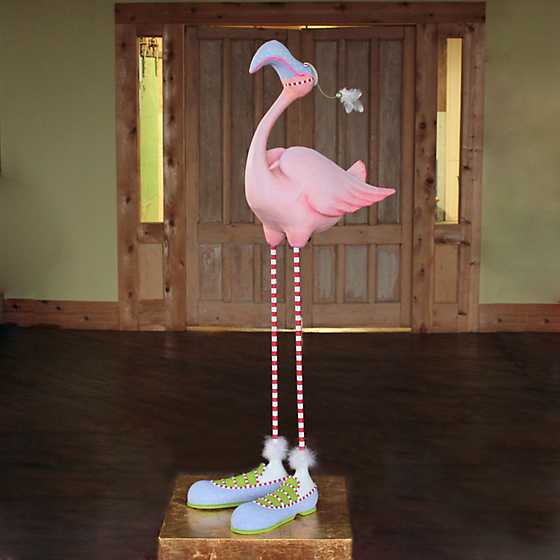Patience Brewster Jambo Sheldon Flamingo Display Figure image one