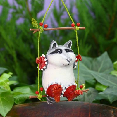 Patience Brewster Huck Raccoon Ornament